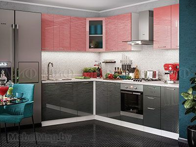 Кухня Техно с фотопечатью