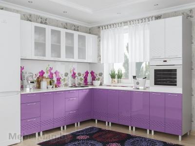 Кухня Волна - Фиолетовый