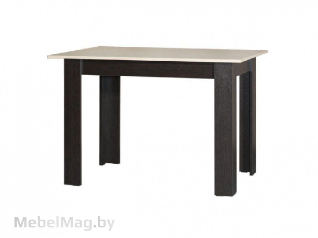 Стол обеденный №1, Венге/Дуб молочный