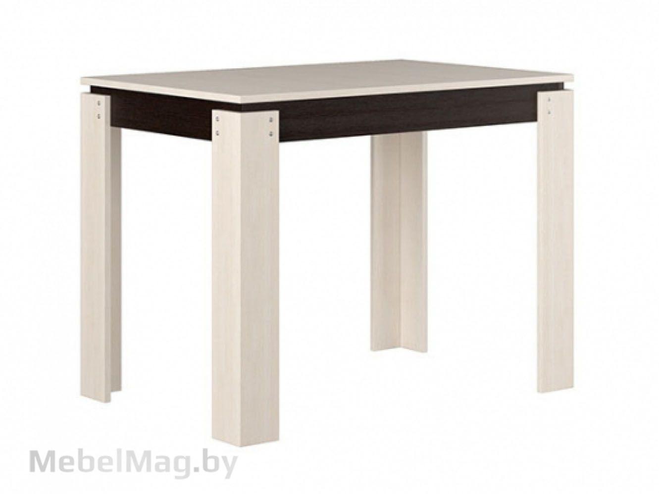 Стол обеденный №2, Венге/Дуб молочный