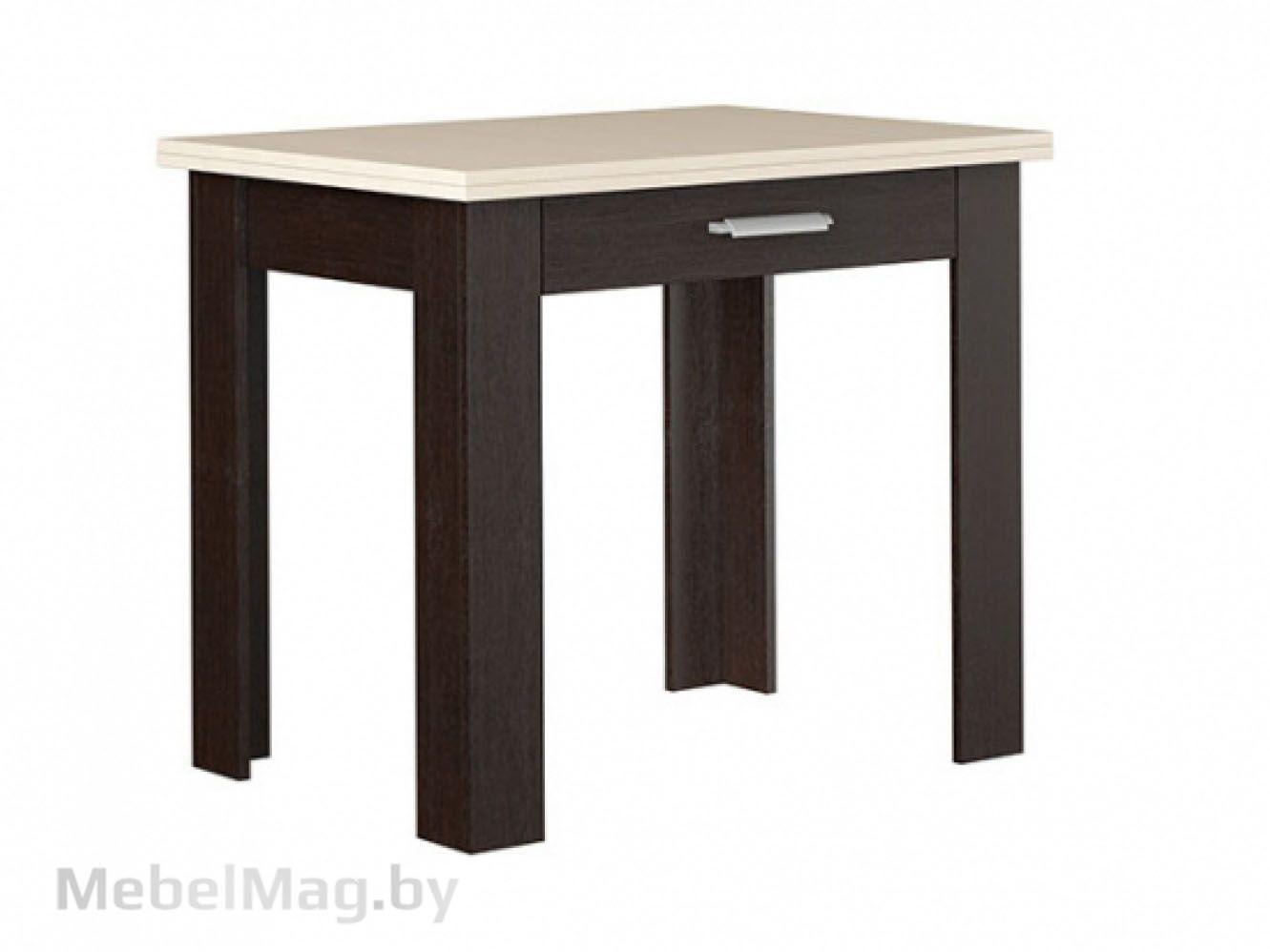 Стол обеденный №4, Венге/Дуб молочный