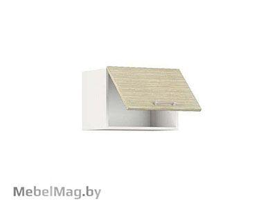 Шкаф-антресоль ШАВ-50 Белый/Зебрано Сахара - Кухня Шанталь 1