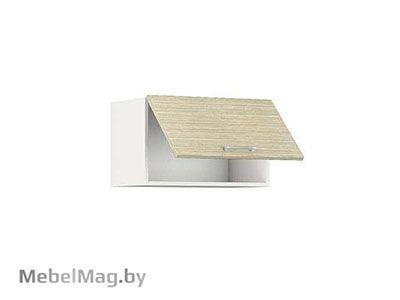 Шкаф-антресоль ШАВ-60 Белый/Зебрано Сахара - Кухня Шанталь 1