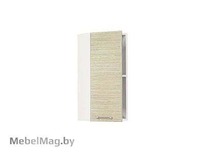 Шкаф-антресоль ШАЗ-30 Белый/Зебрано Сахара - Кухня Шанталь 1