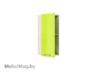 Шкаф-антресоль  ШАЗ-30 Лайм Глянец - Кухня Шанталь 2