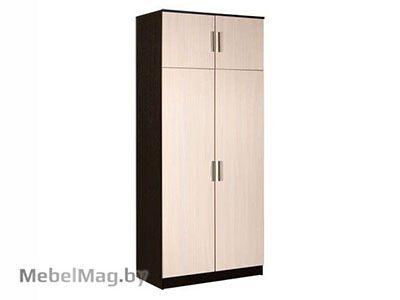 Шкаф 2-х створчатый Венге/Дуб молочный - Прихожая Машенька