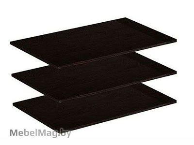 Комплект полок для шкафа 2х створчатого Венге - Коллекция Берта 1
