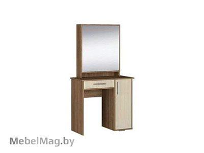Туалетный стол Ясень шимо темный/светлый - Коллекция Берта 1