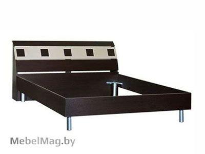 Версаль Кровать 1600 б/м,б/о  Венге /Клен золотистый