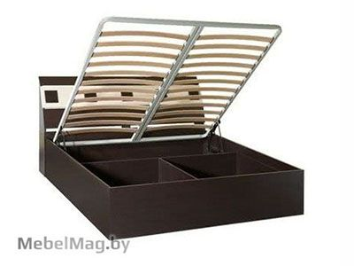 Кровать с подъемным мех. 1400 б/о Венге /Клен золотистый - Версаль