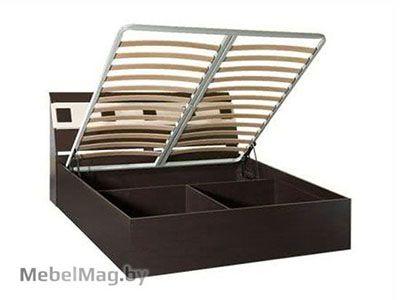 Кровать с подъемным мех. 1600 б/о Венге /Клен золотистый - Версаль
