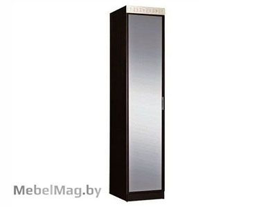 Пенал комбинированный с зеркалом  Венге - Спальня Версаль
