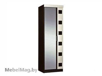 Шкаф 2-х створчатый комбинированный Венге /Клен золотистый - Версаль