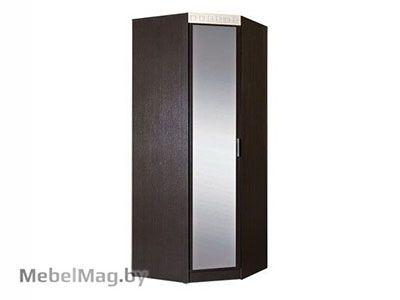 Шкаф  угловой с зеркалом Венге /Клен золотистый - Спальня Версаль
