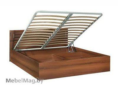 Кровать 1400 с подъемным механизмом, Орех Пегасо - Спальня Линда