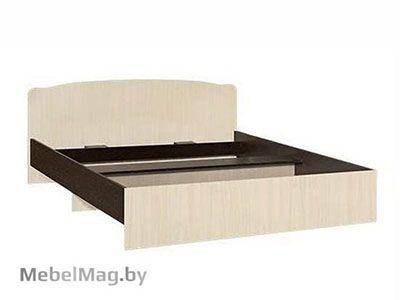 Кровать односпальная фигурная спинка 800мм Венге - Коллекция Светлана