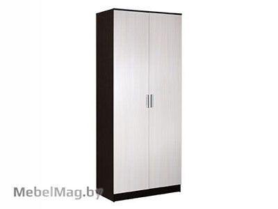 Шкаф 2-х створчатый   бельевой Венге - Коллекция Светлана