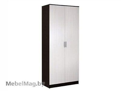 Шкаф 2-х створчатый комбинированный  Венге - Коллекция Светлана