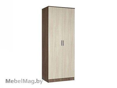 Шкаф 2-х створчатый плательный Ясень шимо - Светлана