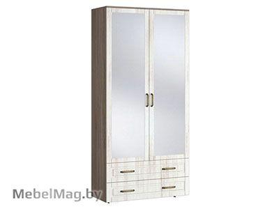 Шкаф 2х створчатый с ящиками - Коллекция Афина