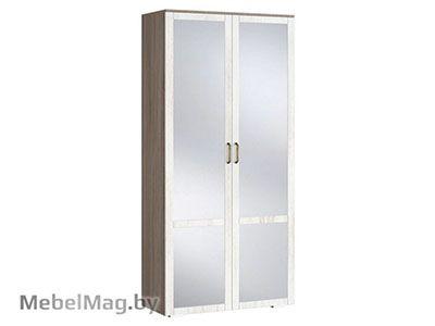 Шкаф 2х створчатый с зеркалом (440) - Коллекция Афина