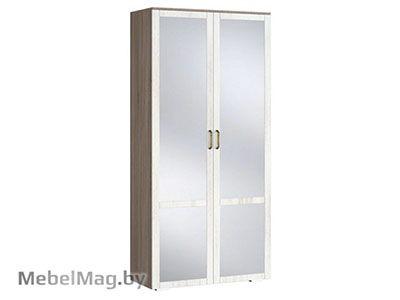 Шкаф 2х створчатый с зеркалом (540) - Коллекция Афина