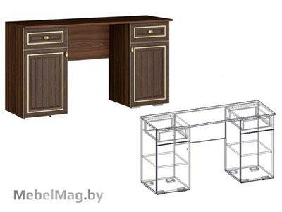 Макияжный стол Орех/Орех - Коллекция Виктория