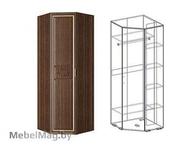 Шкаф угловой левый (540) Орех/Орех - Коллекция Виктория