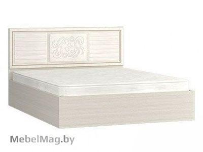 Кровать 1200 изголовье МДФ (Ясень) - Коллекция Виктория