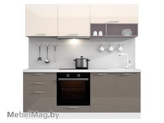 Прямая кухня Кухня Brillo 2100-1