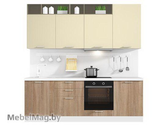 Прямая кухня Кухня Pratico 2400-1