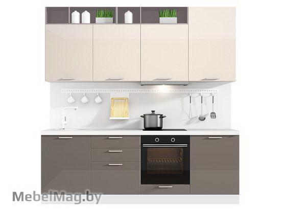 Прямая кухня Кухня Brillo 2400-1
