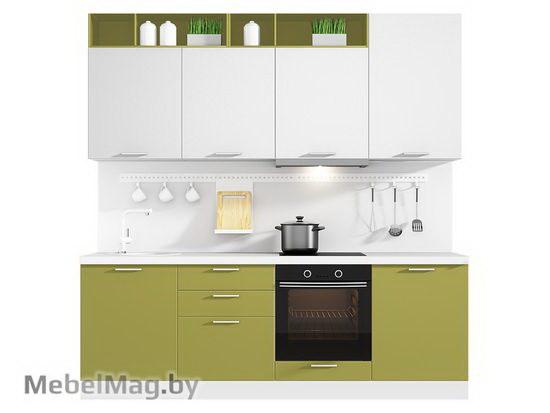 Прямая кухня Кухня Colore 2400-1