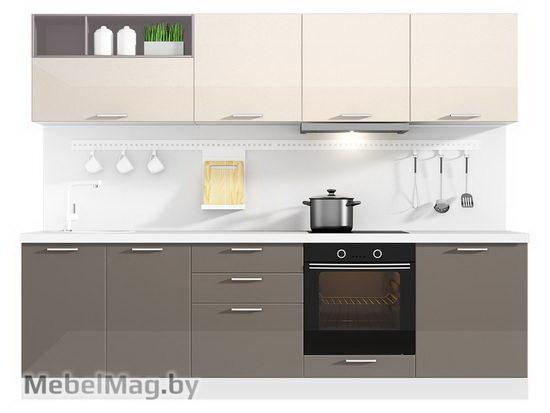 Прямая кухня Кухня Brillo 2700-1