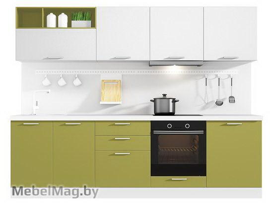 Прямая кухня Кухня Colore 2700-1