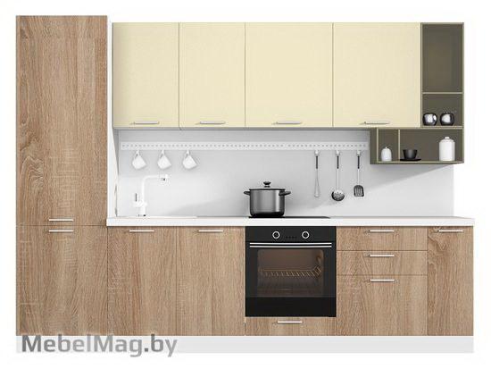 Прямая кухня Кухня Pratico 3000-1