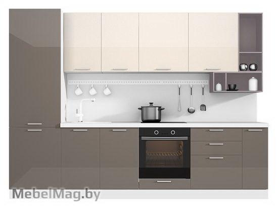 Прямая кухня Кухня Brillo 3000-1