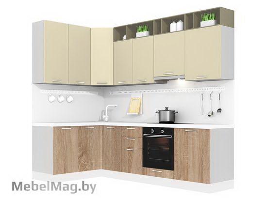 Угловая кухня Кухня Pratico 1500х2700-1