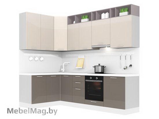Угловая кухня Кухня Brillo 1500х2700-1