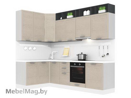 Угловая кухня Кухня Bello 1500х2700-1