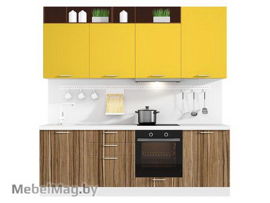 Прямая кухня Кухня Pratico 2400-2