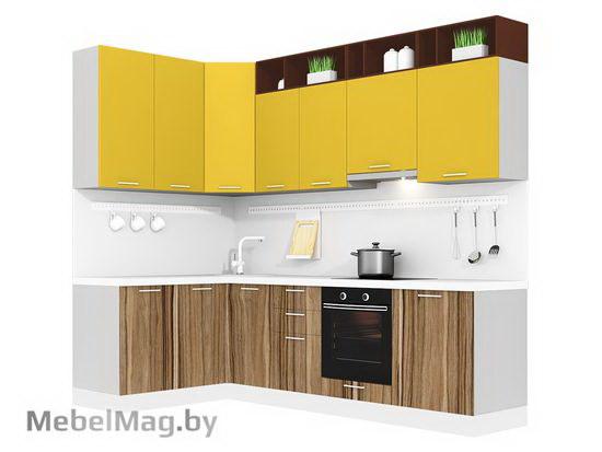 Угловая кухня Кухня Pratico 1500х2700-2