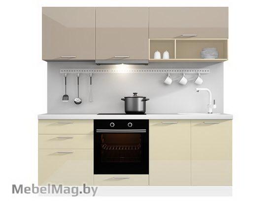 Прямая кухня Кухня Lacatto 2100-2