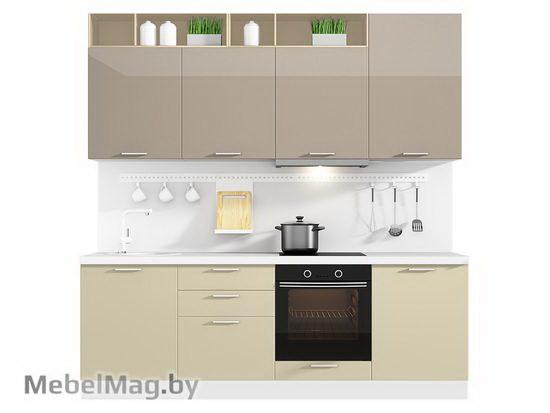 Прямая кухня Кухня Lacatto 2400-2