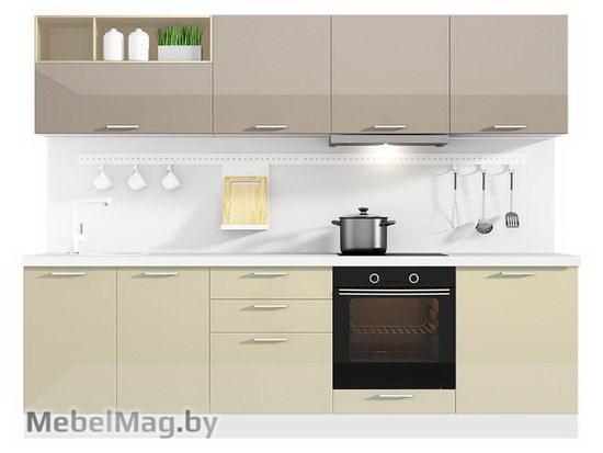 Прямая кухня Кухня Lacatto 2700-2