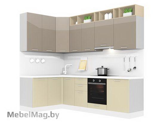 Угловая кухня Кухня Lacatto 1500х2700-2