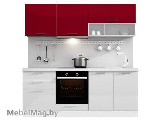 Прямая кухня Кухня Brillo 2100-2
