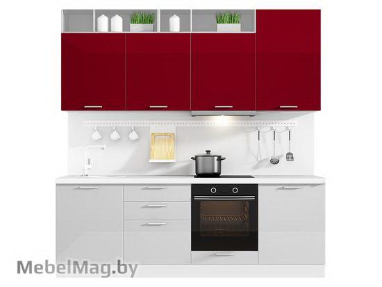 Прямая кухня Кухня Brillo 2400-2