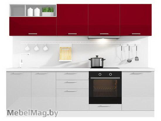 Прямая кухня Кухня Brillo 2700-2