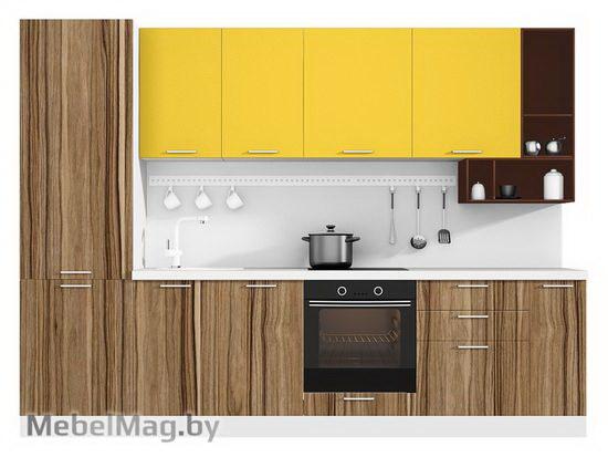 Прямая кухня Кухня Pratico 3000-2
